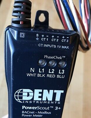 Dent Powerscout 3 Bacnet-modbus Power Meter