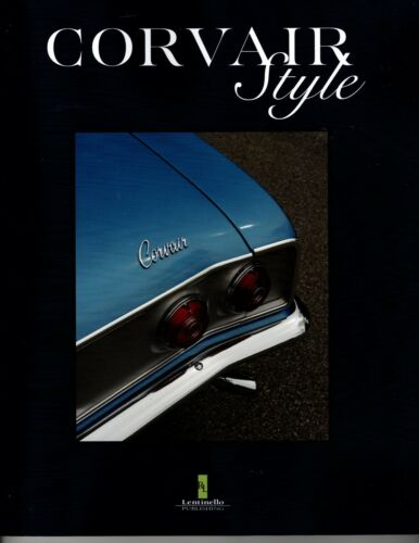 Chevrolet Corvair Styling- GREAT NEW BOOK!