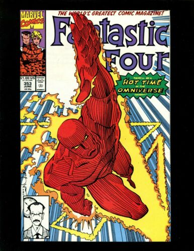 Fantastic Four #353 VF+ 1st Mr Mobius Time Variance Authority TVA Justice Peace
