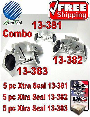 (Xtra Seal Universal Combo Combi Tire Plug Patch Repair 5 ea13-381,13-382, 13-383)