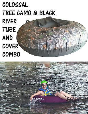 Colossal InnerTube, Rafting Tube Cover Combo, River Tube Combo CAMO