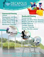 Affordable Commercial and Residential Cleaning