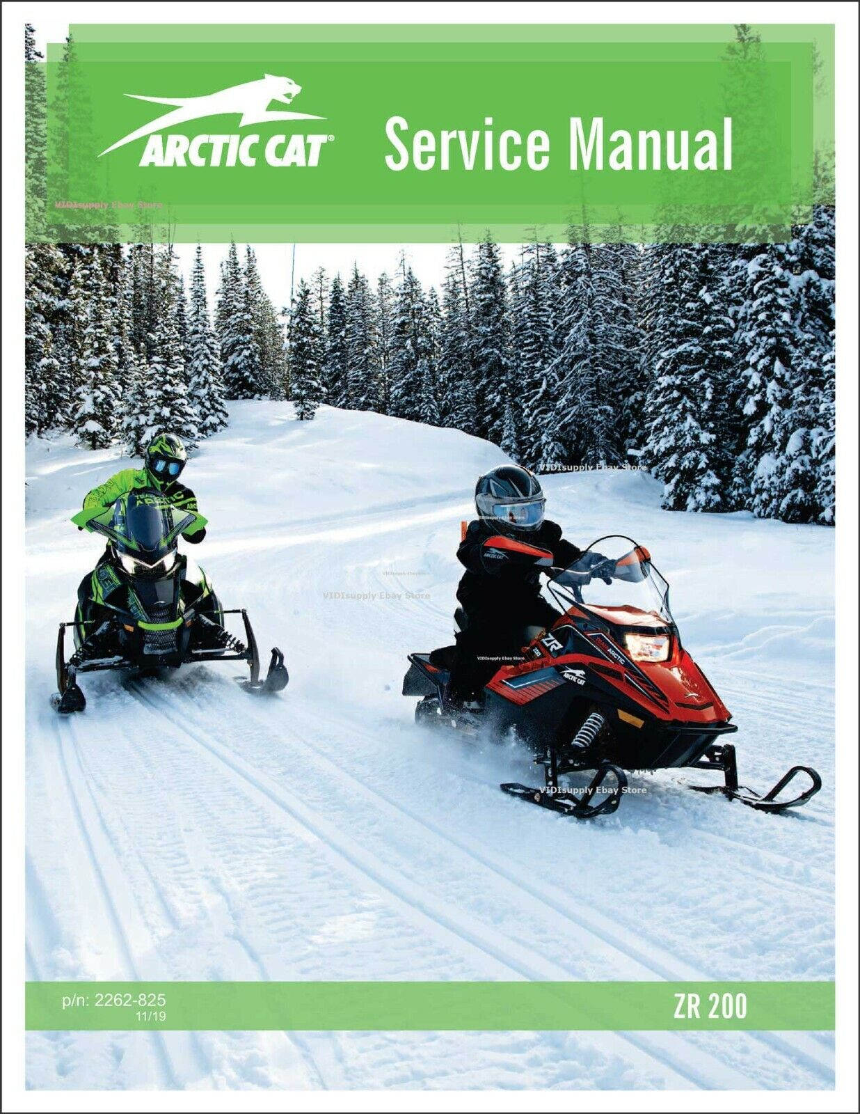 mediatime.sn Sporting Goods Snowmobiling Manuals Printed Arctic ...