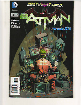 BATMAN #14, THE NEW 52, 1st PRINT, NM or Better, (DC COMICS, JAN