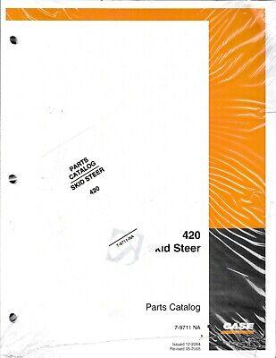 Case 420 Skid Steer Loader Parts Manual