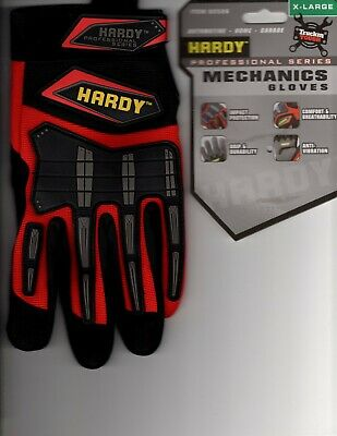 Hardy Mens Profssional Series Mechanics Work Gloves X-large Only