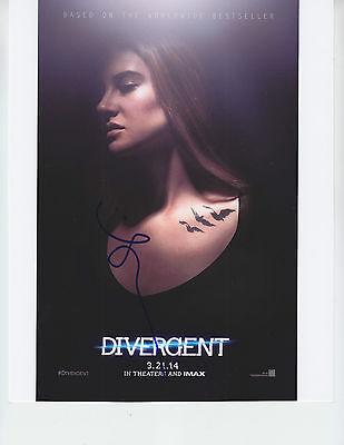 Shailene Woodley   Divergent   Signed 8X10