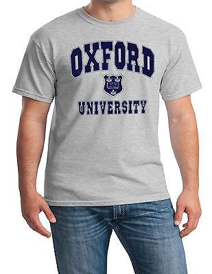 Oxford University T-Shirt Merchandise Souvenir Gift UK Mens