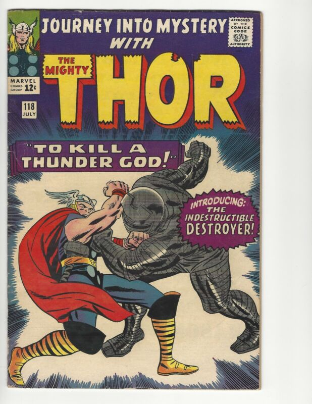 MARVEL - Journey Into Mystery #118 - The Mighty Thor - Introducing The Destroyer