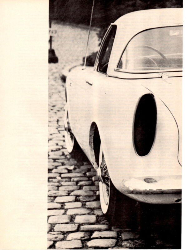 1960 SUNBEAM ALPINE  ~  ORIGINAL 7-PAGE ROAD TEST / ARTICLE / AD