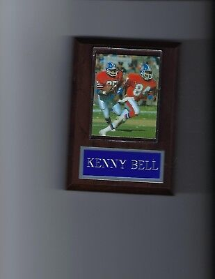 Bell Plaque (KENNY BELL PLAQUE DENVER BRONCOS FOOTBALL NFL)