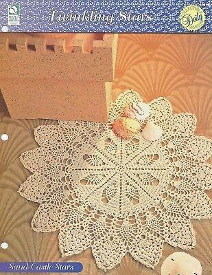 Sand-Castle Stars Doily Crochet Pattern - Twinkling Stars Doilies HOWB Series (Twinkling Stars)