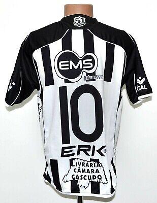 ABC FUTEBOL CLUBE BRAZIL 2010/2011 HOME FOOTBALL SHIRT JERSEY ERK #10 SIZE M image