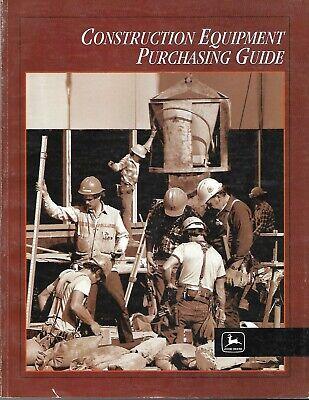 John Deere - Construction Equipment - 30 Brochures In 1 Guide - C1998 E6532