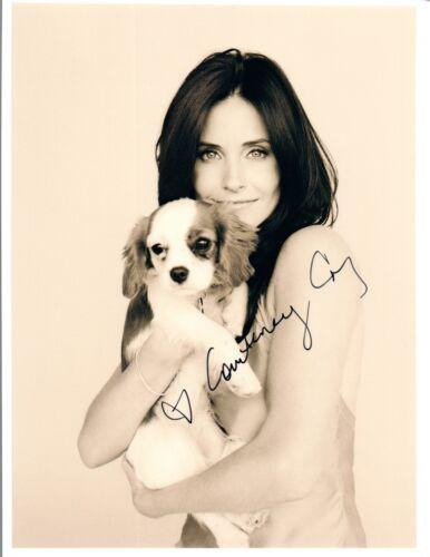 Courteney Cox Signed Autographed 8x10 Photo Cougar Town Friends Hot COA VD