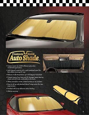 G-TT-10 Gold Intro-Tech's Best Custom Auto Sun Shade for Toyota Rav-4