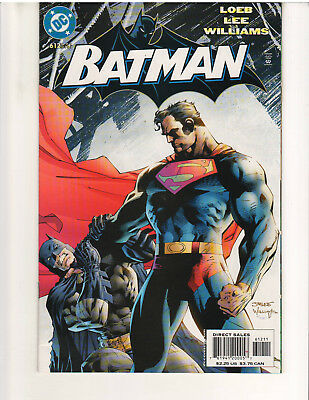 BATMAN #612, 1940 SERIES, VF/NM or Better, JIM LEE ART (DC COMICS, APRIL