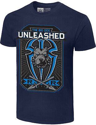 WWE ROMAN REIGNS The Big Dog Unleashed OFFICIAL AUTHENTIC T-SHIRT