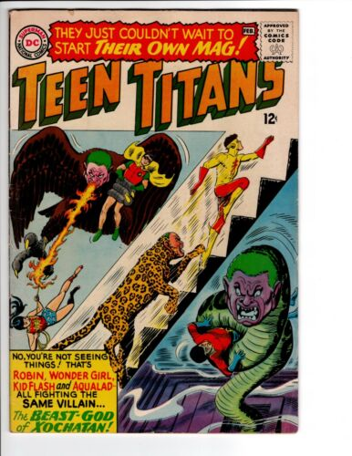 Teen Titans #1 (DC 1966) 1st Issue in Series! HOT KEY COMIC FN/VF or VF-? 🔑🔑🔥