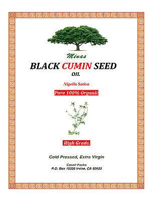 Organic Black Cumin Seed Oil Habet El Baraka Blessed Seed...