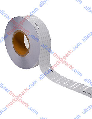 Conspicuity Tape Dot-c2 Approved Reflective Tape Trailer White 2x150 -1 Roll