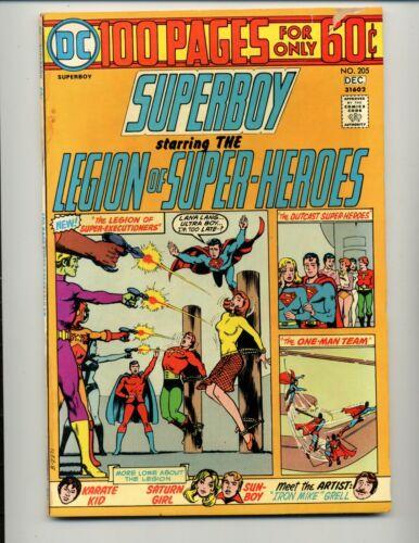 Superboy #205    DC 1974