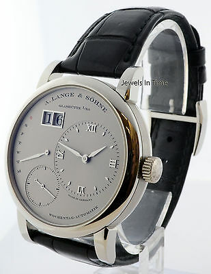A. Lange & Sohne Lange 1 Daymatic Platinum Watch Box/Papers 320.025