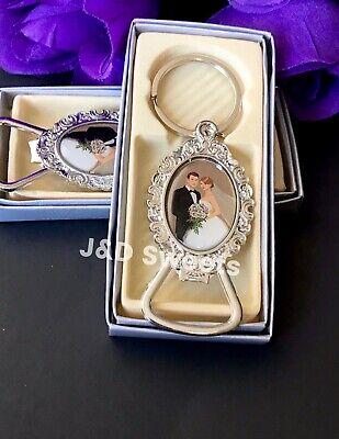 24-Wedding Favors Bride & Groom Giveaway Recuerdos Nuestra Boda Keychains Box Bride Groom Favor Boxes