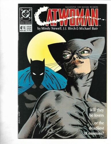 Catwoman #4, 1988, 9.4, NM, 4th CatWoman ever, Limited 4 part Series, Copper Age