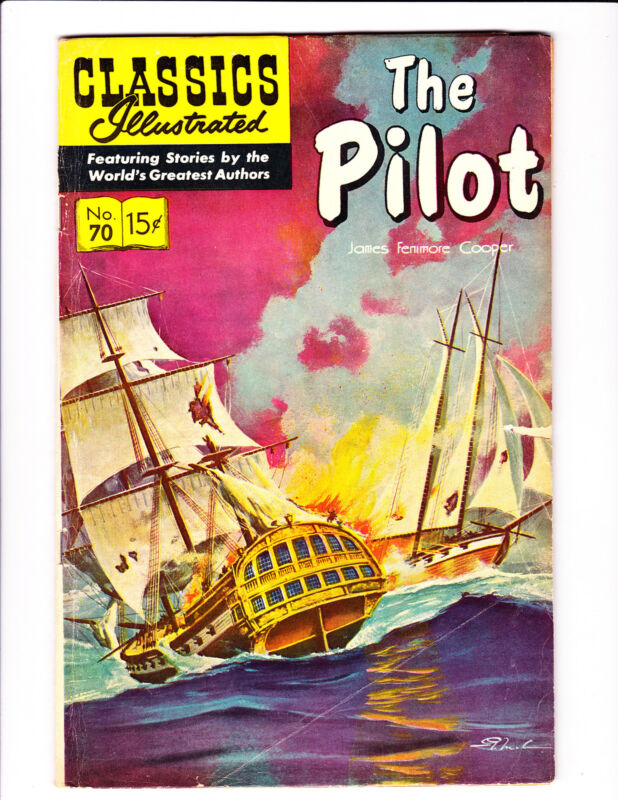 """Classic Illustrated  No.70     : HRN 167 :      : 1964 :       : """"The Pilot"""" :"""