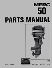 1979 Mercury Merc 500, 50 HP, 4357640 thru 5531629 Parts