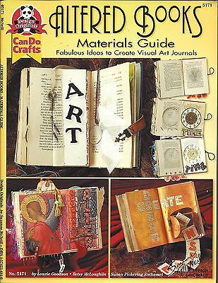 ALTERED BOOKS - MATERIALS GUIDE ~ SUZANNE McNEILL - ideas for art journals
