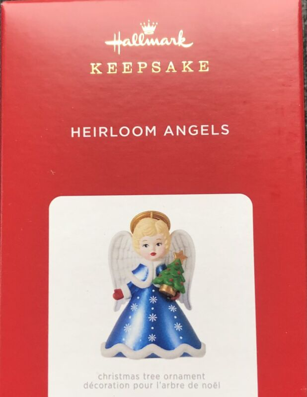 2021 Hallmark Heirloom Angels Ornament - 6th in the series