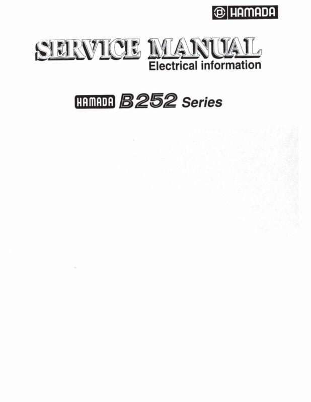 Hamada B252 Series Service Manual (pdf file)(043)