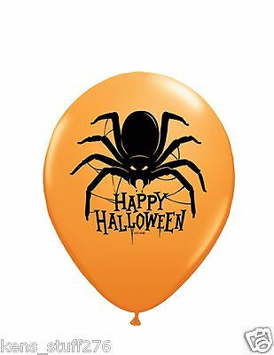 Spider Latex Balloons, Haunted House, Halloween Decor, Costume Party, Goth ](Halloween Balloon Spider)