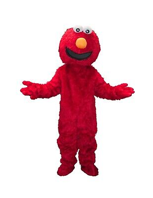 RENT Red Elmo Adult Mascot Costume Halloween Party Birthdays Boys Girls Events  - Rent Halloween Mascot Costumes