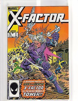 X Factor  1986   2 Vf Nm 9 0 Marvel Comics