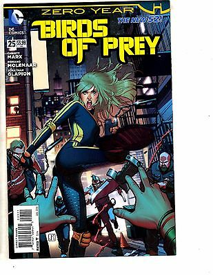 3 DC Comics Birds Of Prey Detective Comics & Nightwing #25 Zero Year Batman J209