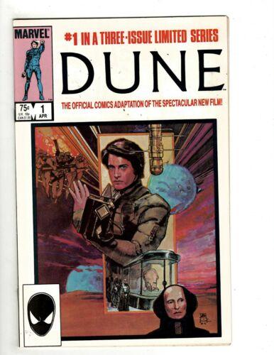 DUNE Complete Marvel Comics LTD Series # 1 2 3 NM Official Movie Adaptation J513