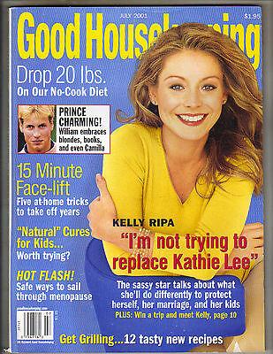 Kelly Ripa Good Housekeeping Magazine 7 01 Prince William