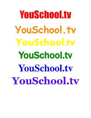 Youschool Tv  A Global Edu Tech Multi Social Media Domain   Each One  Teach One