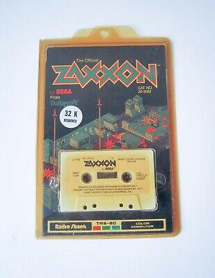 Computer Games - ZAXXON - TANDY COLOR COMPUTER