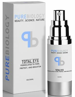 "Pure Biology ""Total Eye"" Anti Aging Eye Cream Infused with Instant Lift"