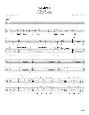 Whitesnake Guitar & Bass Tab FOREVERMORE Lessons on Disc Tablature ...