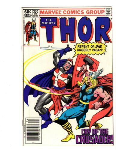Thor #330, Vol 1 NM+ 9.6 Marvel