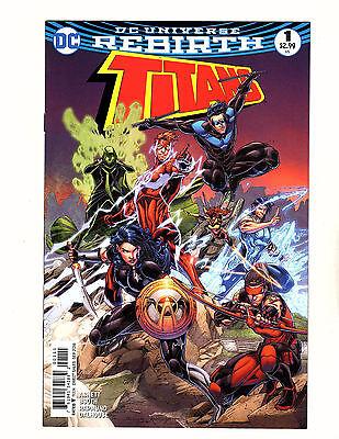 Titans #1 (2016, DC) NM Rebirth 1st Print Arsenal Nightwing Wally West Flash