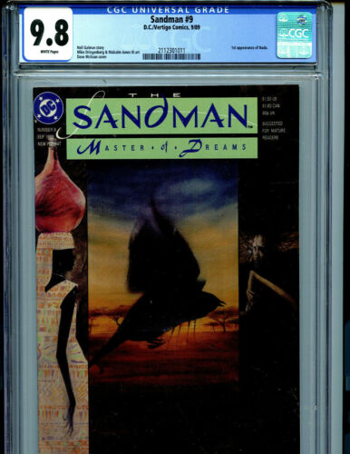 Sandman #9 Gaiman CGC 9.8 NM/MT DC Comics 1989 Amricons K26