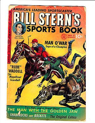 Bill Stern's Sports Book   No.2     : 1952 :     : Horse Jockey Cover! :