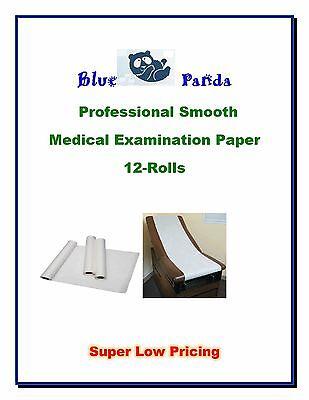 12 Rolls Blue Panda Exam Table Paper 14