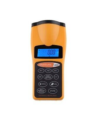 Ultrasonic Distance Measurer Laser Point Cp-3007 Yellow